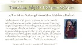 Lotus7 Fundraiser Flyer