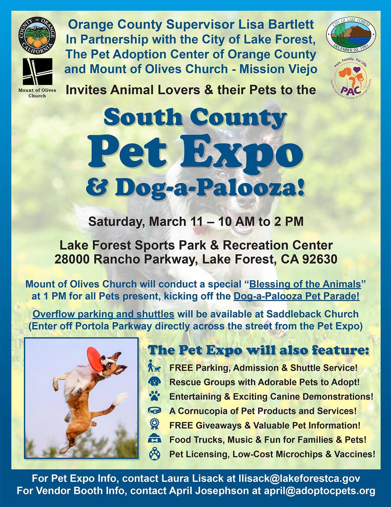 South County Pet Expo – Saturday March 11 – The Pet Adoption